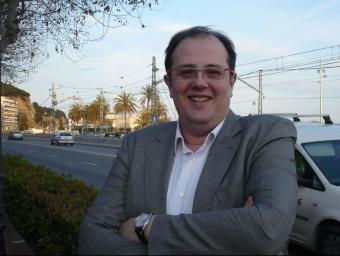 Estanis Fors és el primer candidat d'UDC que es presenta a Arenys de Mar. E. FERRAN