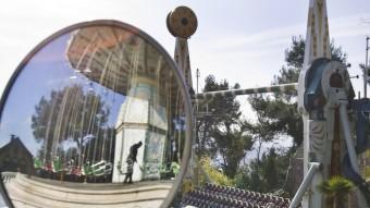 El parc d'atraccions del Tibidabo de Barcelona té els orígens al començament del segle passat.  ARXIU /ROBERT RAMOS