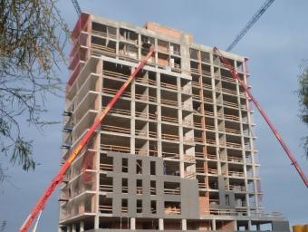 Vista d'una promoció d'Habitatge Assequible a Mataró.  LLUÍS MARTÍNEZ