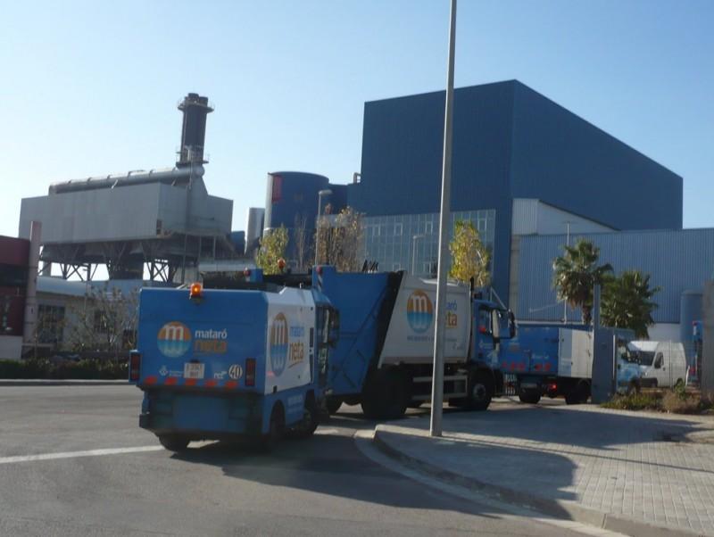 La planta incineradora de Mataró millora la generació d'energia elèctrica LL.M