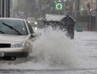 Inundacions a Cambrils, per les fortes plujes a la demarcació de Tarragona TJERK VAN DER MEULEN
