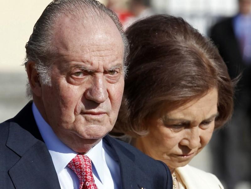 El rei Joan Carles i la reina Sofia REUTERS