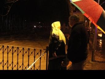 El Fluvià al seu pas pel pont de les Mores d'Olot. JORDI RIBOT/CLICK ART FOTO