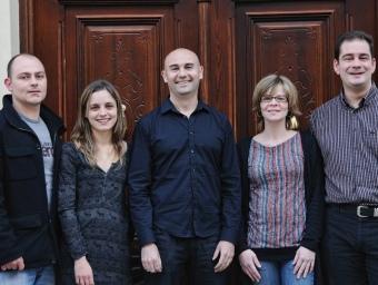 Candidats d'Esquerra Republicana a l'Ajuntament de Xixona. ARXIU