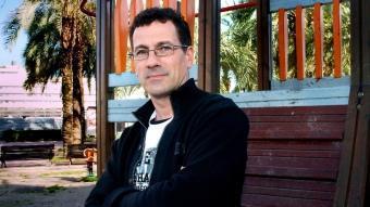 El periodista bisbalenc Xevi Sala. JORDI SOLER