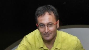 Xavier Graset, periodista, ara treballant a Catalunya Ràdio ARXIU