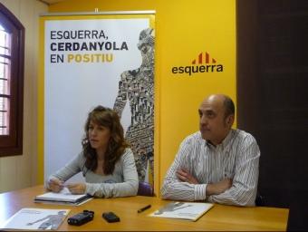 Helena Solà i Francesc Rossinyol. C.A.F