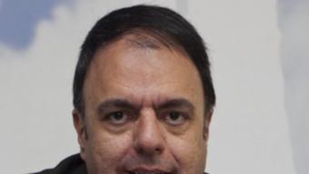 El nou alcalde de Manresa, Valentí Junyent (CiU). Robert Ramos