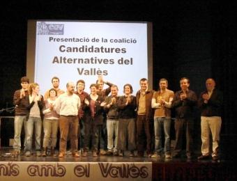Final de l'acte polític de les CAV, divendres, amb candidats de les deu formacions a l'auditori del casal Pere Quart E.A