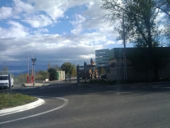 Entrada de la deixalleria de Sant Esteve del Monestir. A.R