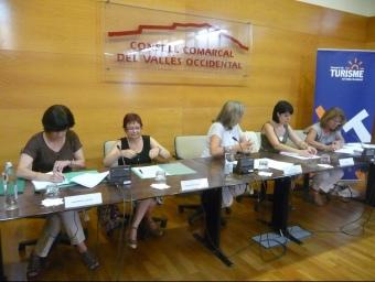 La firma de l'acord entre municipis, que va tenir lloc el passat 19 de juliol M.C.B
