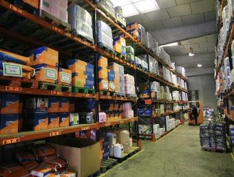 El magatzem d'Ambisist des d'on es distribueixen els productes directament al client. MANEL LLADÓ