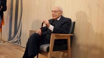 El doctor Moisès Broggi, a l'hospital de Sant Joan Despí que porta el seu nom ORIOL DURAN