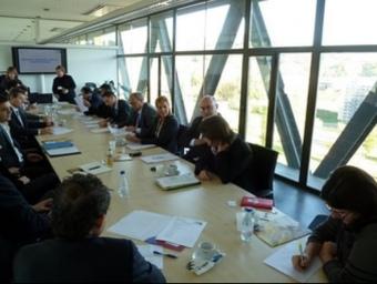 Un moment de la trobada amb empreses el novembre passat a la UdG.  L'ECONÒMIC