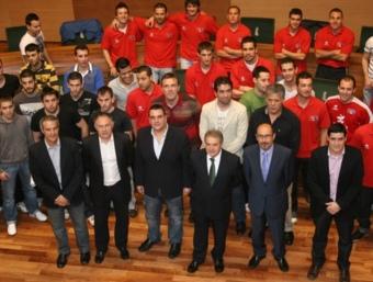 Imatge general dels jugadors participants en aquesta edició de premi de la Diputació.