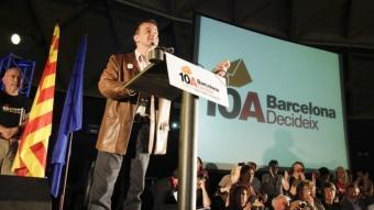 L'acte final de Barcelona Decideix va reunir unes 3.000 persones, segons els organitzadors ROBERT RAMOS