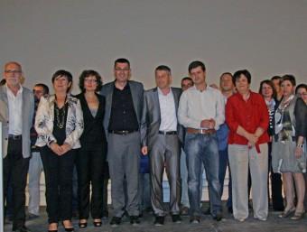 Imatge de la candidatura presentada per Compromís les passades eleccions municipals. EL PUNT-AVUI
