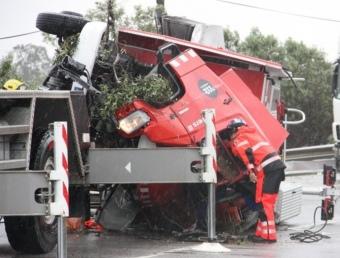 Accident de trànsit a Amposta a l'N-340. Divendres Sant. ACN