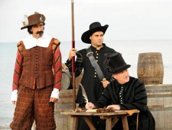 Fotograma de la pel·lícula rodada amb motiu de la commemoració de l'expulsió dels moriscos. ARXIU