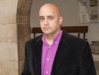 Xavier Martínez Cantó és el cap de llista d'Esquerra Unida, aspirant a l'alcaldia de Villar. ESCORCOLL