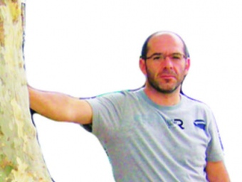 mLluís Guinó i Subirós, nascut el 29 de maig del 1969, és alcalde de Besalú des del 1995. RAMON ESTÉBAN