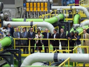 Inauguració de la dessalinitzadora del Prat.  ARXIU /ANDREU PUIG