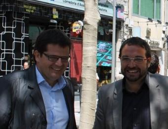 Els candidats de Terrassa i Sabadell , que han perdut representació al consistori durant la campanya J.A