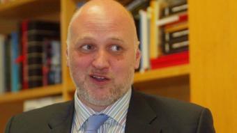 Joan Oller, president de l'Associació de Gestors Culturals