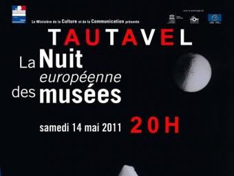 Cartell de la Nit dels museus a Talteüll.