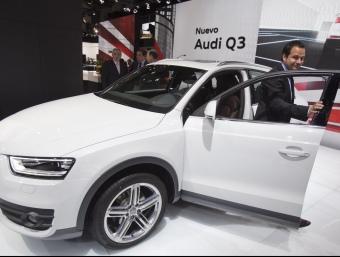 Un dels dos Q3 exposats per Audi al Saló de l'Automòbil de Barcelona ROBERT RAMOS