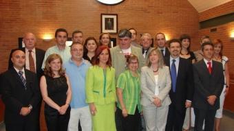 Components del Ple de la Corporació d'Aldaia a principi de legislatura.