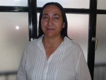 Carmen Porter és la candidat del PP a l'alcaldia de Villar. ESCORCOLL