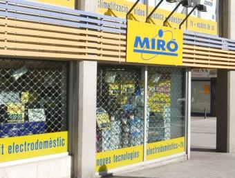 Un establiment de la cadena d'electrodomèstics Miró ARXIU