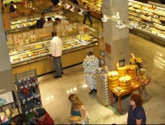 Supermercat Whole Foods de la ciutat de Nova York.  ARXIU