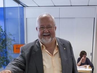L'alcalde de Martorell, Salvador Esteve, el dia de les eleccions ROBERT RAMOS