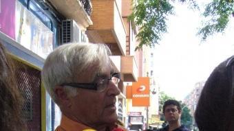 El candidat de Compromís a l'alcaldia de València, Joan Ribó, formació que aconsegueix entrar per primera vegada al consistori REDACCIÓ