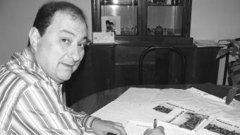 Pere Garriga, cap de llista de l'Entesa per Arbúcies i alcalde electe. EL PUNT