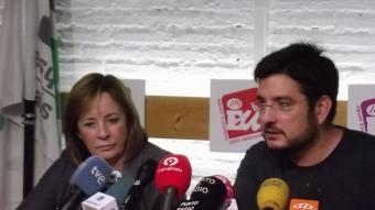 Marga Sanz i Ignasi Blanco. REDACCIÓ