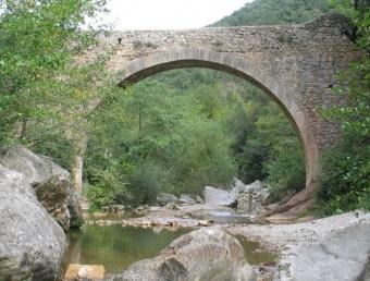 El pont de Valentí , una de les novetats a la llista de neteja del Consorci EL PUNT