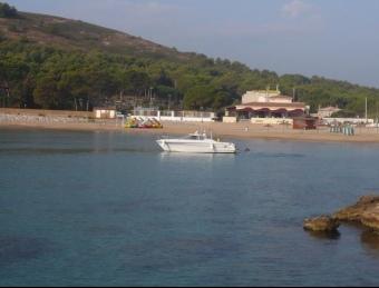 Una perspectiva de Cala Montgó, una de les platges distingides ALBERT VILAR