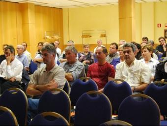 Els assistents a la Jornada sobre la vedella que es va fer a Girona. I.BOSCH