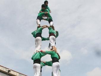 Els castellers del Riberal integraran divendres estuduants americans al seu assaig. AIRENOU