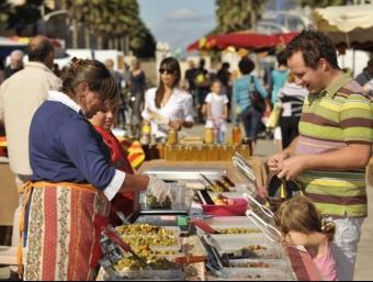 Les parades de la festa de l'oliva. VILA DE CANET DE ROSSELLÓ