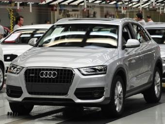 El primer Audi Q3 a la línia de muntatge del model a la planta de Seat de Martorell REDACCIÓ
