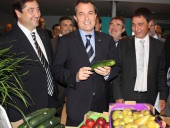 Artur Mas ha instat a consumir productes catalans davant la crisi sanitària alemanya. ACN