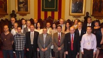El nou govern municipal de Vilafranca.
