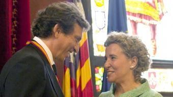 Isern va rellevar l'anterior alcaldessa, Aina Calvo EFE
