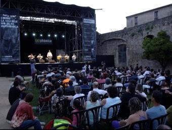 Des de fa tres anys La Muralla s'ha establert com l'escenari principal del festival.  (A)PHÒNICA
