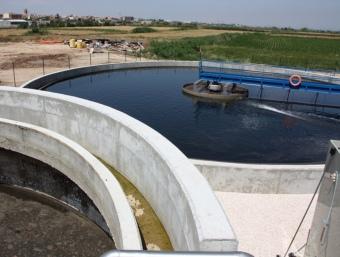 La depuració de les aigües residuals és obligatori per evitar qualsevol risc per la salut i el medi ambient ACN DETALL DE LA ZONA AMPLIADA A LA DEPURADORA DE TÀRR