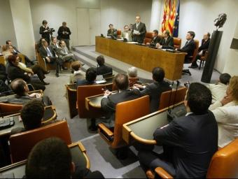El ple de la Diputació de Barcelona es constituirà el proper 15 de juliol. QUIM PUIG